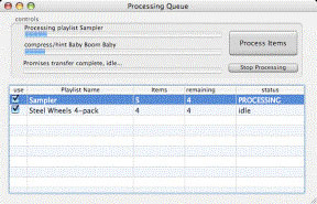 Backbone Radio Processing Queue