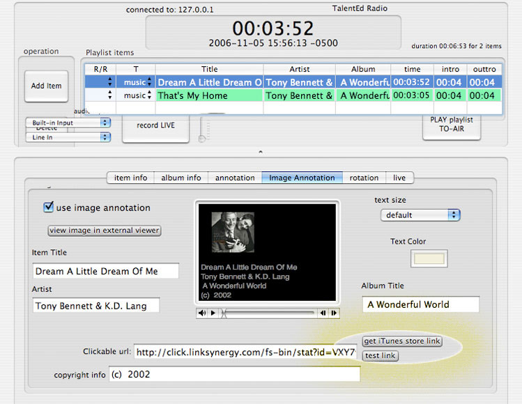 Backbone Radio iTunes Lookup