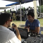 Backbone remote radio broadcast from JP Music Fest