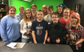 Lincoln Junior High School Radio Award Winners