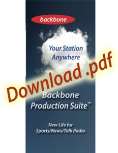 Backbone Talk Radio Production Suite in the Cloud
